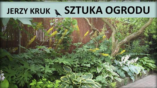 Jerzy Kruk miniatura sztuka ogrodu.