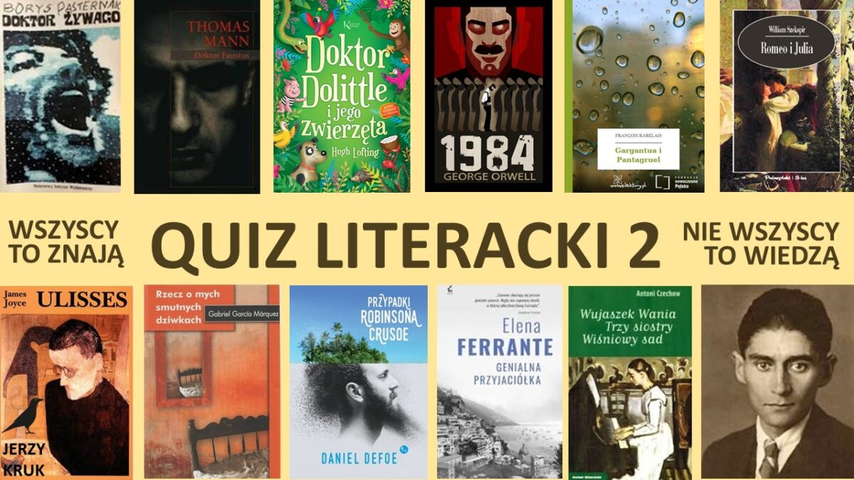 Quiz literacki 2